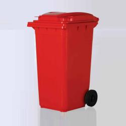 Vale Group - 120 Litre Kırmızı Konteyner