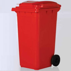 Vale Group - 240 Litre Kırmızı Konteyner