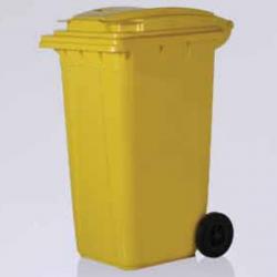 Vale Group - 240 Litre Sarı Konteyner