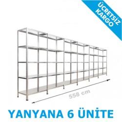 Vale Group - Çelik Arşiv Rafı 31x558x200 5Katlı